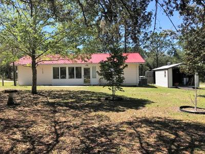 Levy County Single Family Home For Sale: 11216 NE 63rd Place