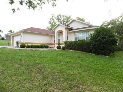 Ocala Single Family Home For Sale: 4986 SW 109th Loop