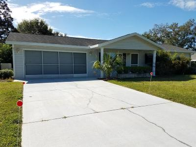 Spruce Creek So Single Family Home For Sale: 10836 SE 176th Street