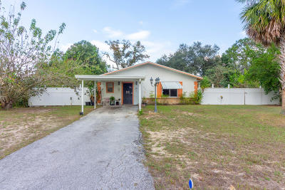 Ocala Single Family Home For Sale: 9309 Spring Road