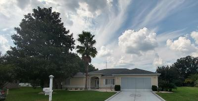 Dunnellon Single Family Home For Sale: 13832 SW 114th Circle
