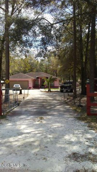 Ocala Single Family Home For Sale: 16192 SW 55th Street