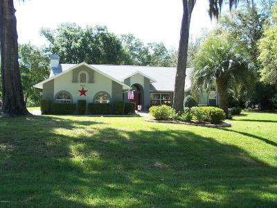 Dunnellon Single Family Home For Sale: 9855 SW 206th Court Road