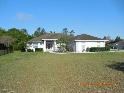 Ocala Single Family Home For Sale: 10360 SW 48th Avenue