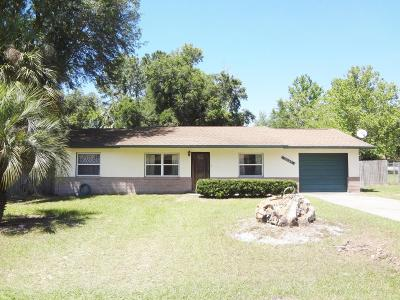 Ocala FL Single Family Home For Sale: $114,000