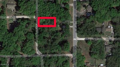 Belleview FL Residential Lots & Land For Sale: $5,000