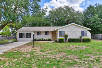 Ocala FL Single Family Home For Sale: $112,900