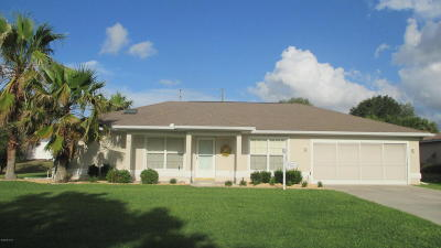 Ocala Single Family Home For Sale: 8625 SW 60th Circle