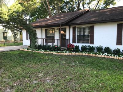 Belleview Single Family Home For Sale: 7520 SE 114th Lane