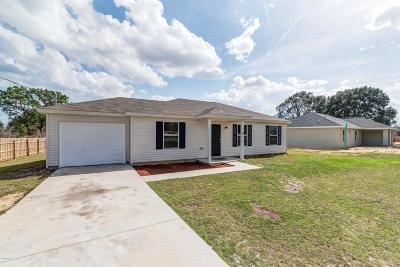Ocala Single Family Home For Sale: 6 Water Track Trak