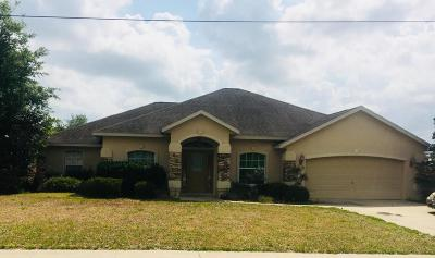 Marion Oaks North Single Family Home For Sale: 125 Marion Oaks Course Course