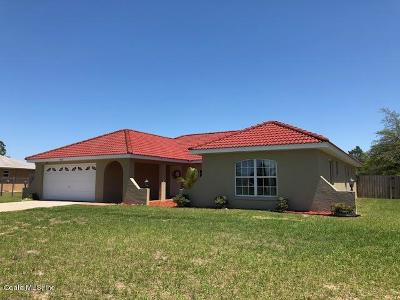 Ocala Single Family Home For Sale: 4521 SW 160th Loop