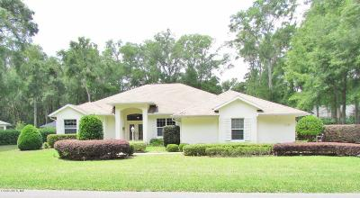 Dunnellon Single Family Home For Sale: 19140 SW 98 Loop