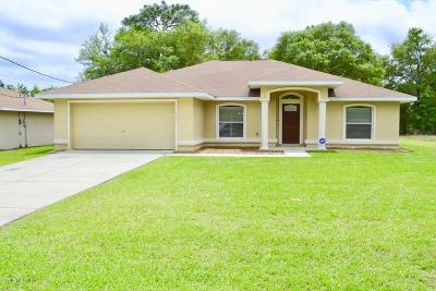 Marion County Single Family Home For Sale: 14400 SW 31st Place