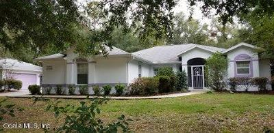 Dunnellon Single Family Home For Sale: 8730 SW 205 Circle