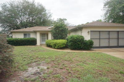 Ocala Single Family Home For Sale: 10557 SW 62nd Court