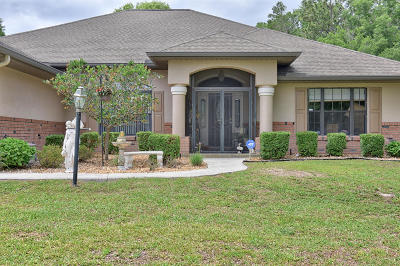 Ocala Single Family Home For Sale: 5291 SW 103rd Loop