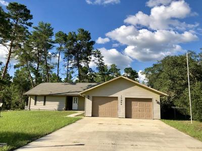 Ocala Single Family Home For Sale: 15862 SW 49th Court Road