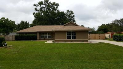 Belleview Single Family Home For Sale: 6244 SE 126th Lane