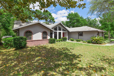 Dunnellon Single Family Home For Sale: 9224 SW 197th Circle