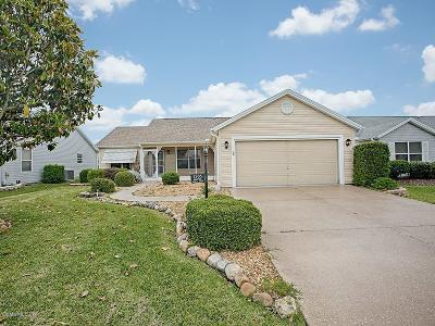 The Villages Single Family Home For Sale: 1505 Esparza Place