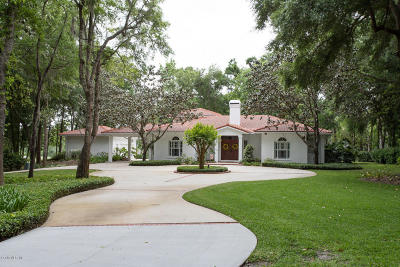 Ocala Single Family Home For Sale: 7073 SE 12th Circle