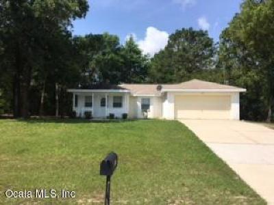Citrus County Single Family Home For Sale: 1652 W G Martinelli Boulevard