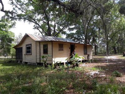 Silver Springs Single Family Home For Sale: 5200 NE 35th Street