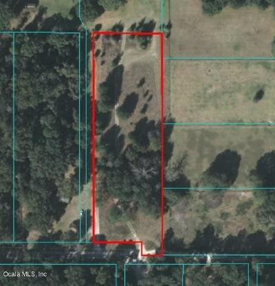 Citra Residential Lots & Land For Sale: NE 184th Place