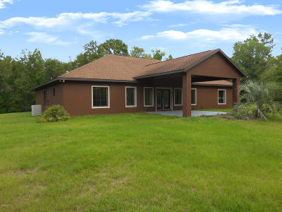 Levy County Single Family Home For Sale: 14791 NE 75th Street