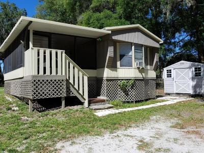Dunnellon Mobile/Manufactured For Sale: 11755 SW 225th Court
