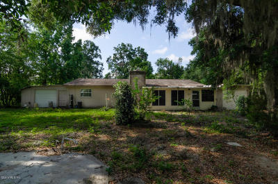 Belleview Single Family Home For Sale: 6129 SE Foss