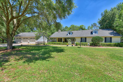 Ocala Single Family Home For Sale: 105 SW 63rd Street Road