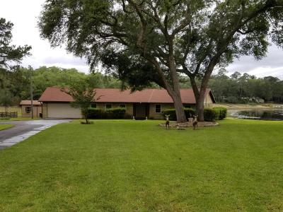 Ocklawaha Single Family Home For Sale: 5400 SE 166th Court