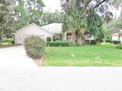 Dunnellon Single Family Home For Sale: 8785 SW 194th Court