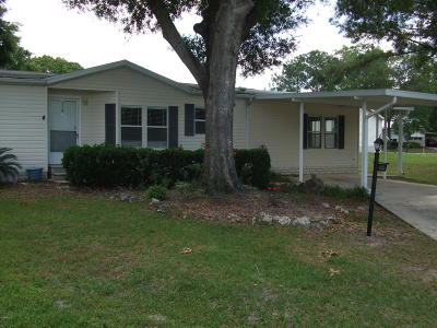 Ocala Mobile/Manufactured For Sale: 543 SW 79th Terrace