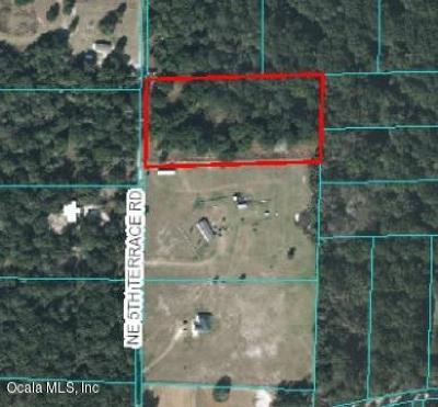 Citra Residential Lots & Land For Sale: 19115 NE 5th Road