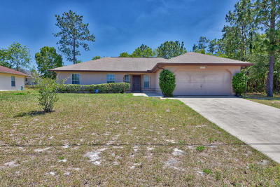 Marion Oaks North Single Family Home For Sale: 6430 SW 129th Loop