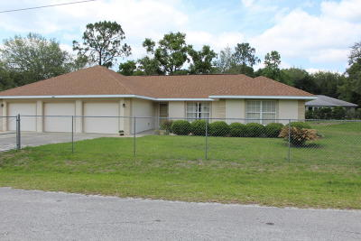 Summerfield Single Family Home For Sale: 8825 SE 158th Place