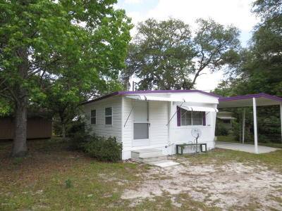Silver Springs Mobile/Manufactured For Sale: 18621 SE 17th Street