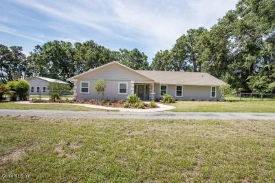 Ocala Single Family Home For Sale: 3730 SE 44th Street