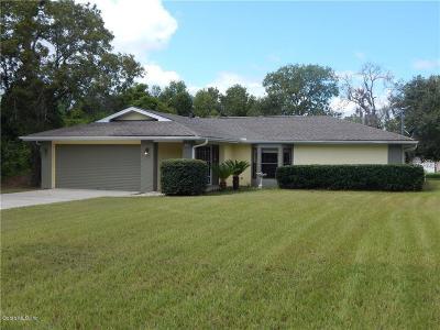Dunnellon Single Family Home For Sale: 8312 N Elkcam Boulevard