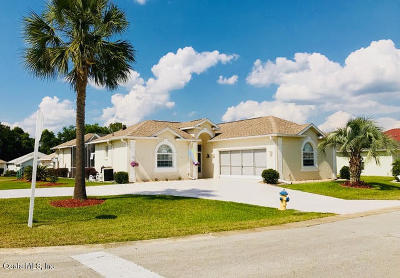 Ocala Palms Single Family Home For Sale: 5941 NW 26th Lane