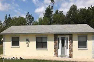 Dunnellon Single Family Home For Sale: 1734 SW Harbor Hills Road