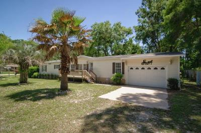 Ocala Mobile/Manufactured For Sale: 298 NW 135th Court