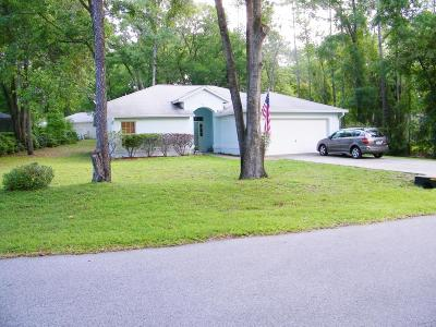 Dunnellon Single Family Home For Sale: 10058 SW 192 Circle