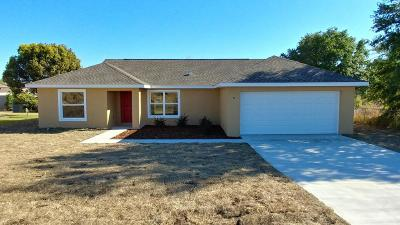 Ocala Single Family Home For Sale: 8 Hemlock Radial