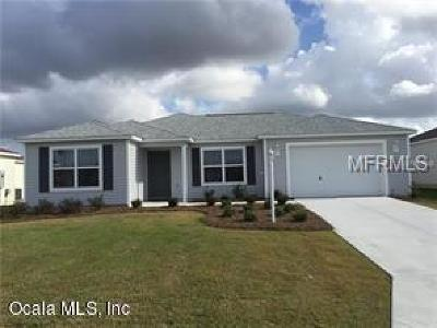 The Villages Single Family Home For Sale: 3223 Webster Way