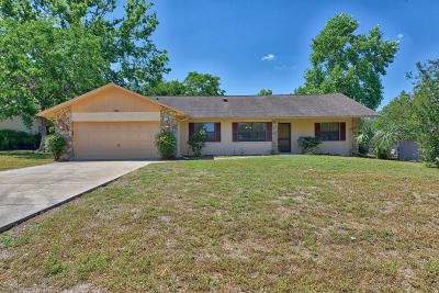 Belleview Single Family Home For Sale: 5980 SE 121st Lane