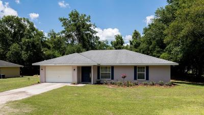 Belleview Single Family Home For Sale: 3755 SE 134th Street